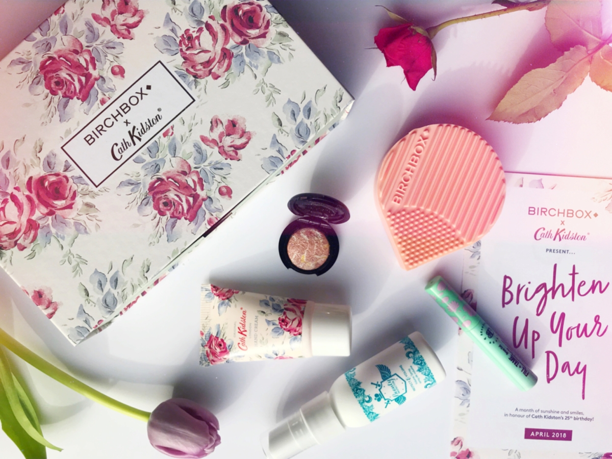 April BirchBox 2018. Cath Kidston Edition